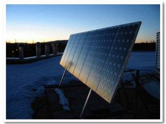 Guasti dei pannelli solari