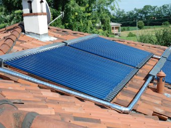 Pannelli solari a circolazione forzata