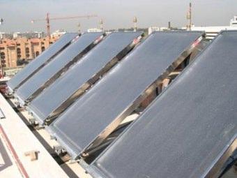Pannelli solari a circolazione naturale