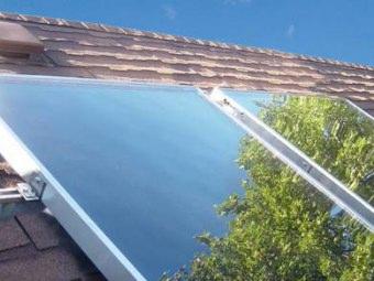 Pannelli solari acqua