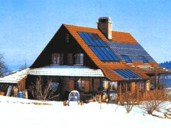 Pannelli solari riscaldamento